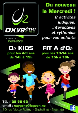 Oxygene kid gym programme