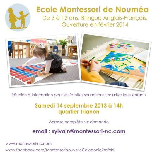 Montessori meeting 14 Sept